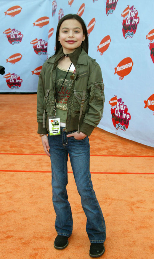 Miranda Cosgrove as a kid