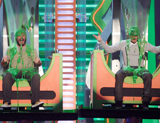 jack black slimed