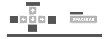 Клавиши Управления в игре Обитель Анубиса