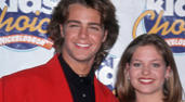 Joey Lawrence and Candace Cameron (1994)