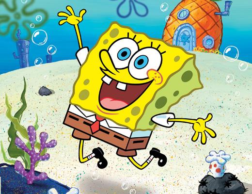 SpongeBob SquarePants Spongebob Excited Face