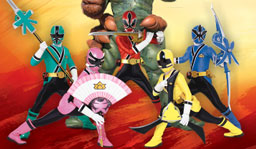 Power rangers samurai quiz match
