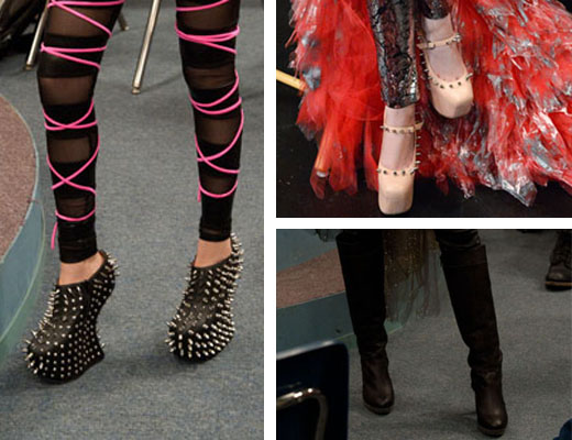 tori goes platinum shoes