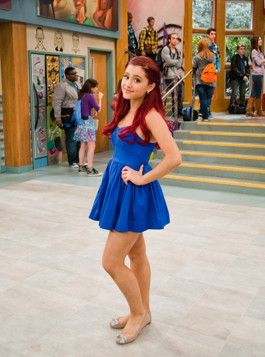 Ariana Grande Christmas Outfit 2012 Victorious on Pinterest