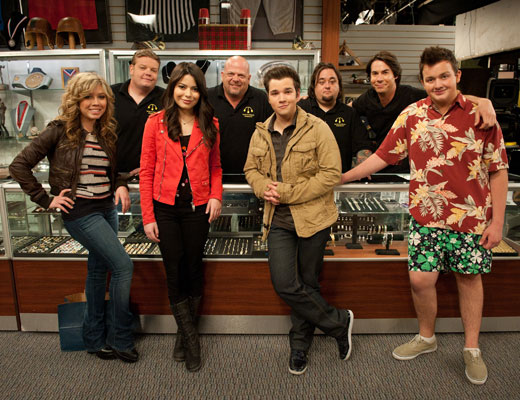 iCarly and Pawn Stars