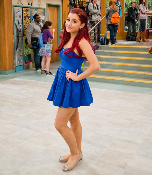 Ariana Grande Victorious Christmas Outfit | www.imgkid.com - The Image Kid Has It!